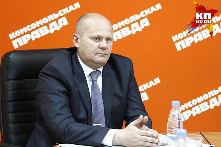 Владислав Логинов, руководитель администрации Советского района