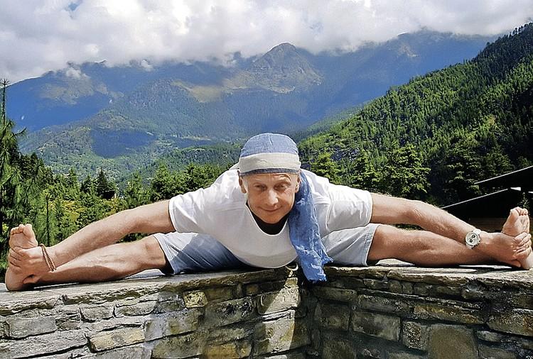 Артист вел здоровый образ жизни. Фото: Архив «ЭГ»