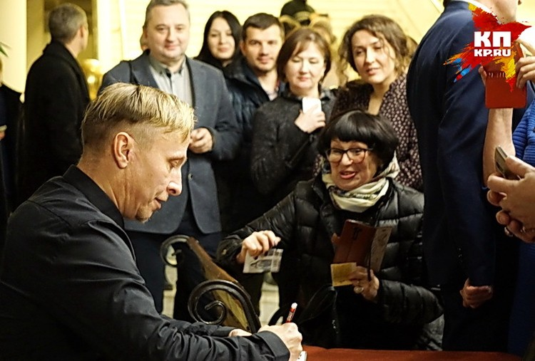 Иван Охлобыстин в Воронеже.