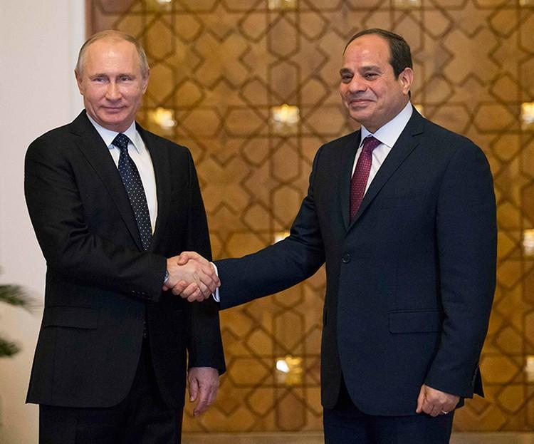 Лидерам России и Египта было о чем говорить