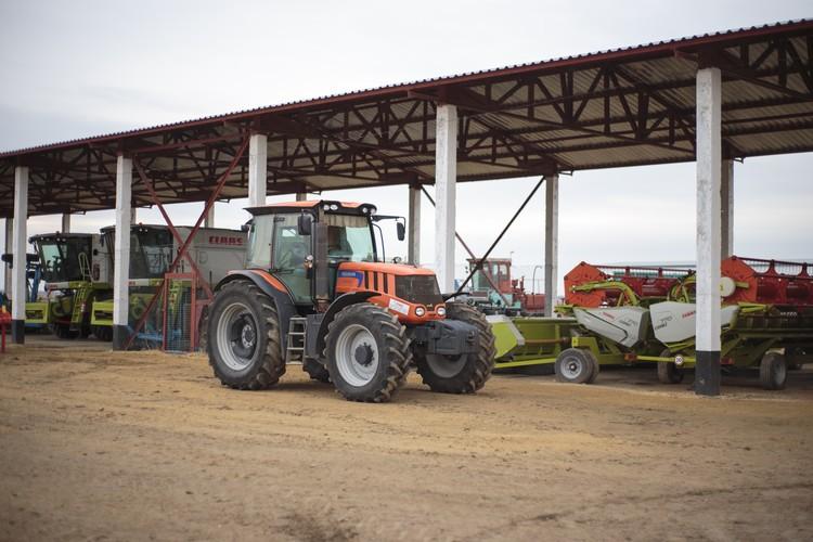 Машино-тракторный комплекс обновлен на 70 миллионов рублей.