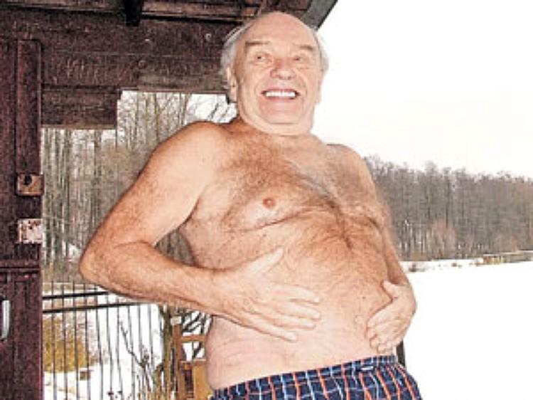 Владимир Шаинский был настоящий морж