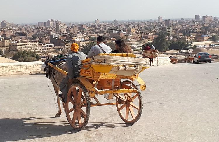В Каире даже зимой солнечно и сухо