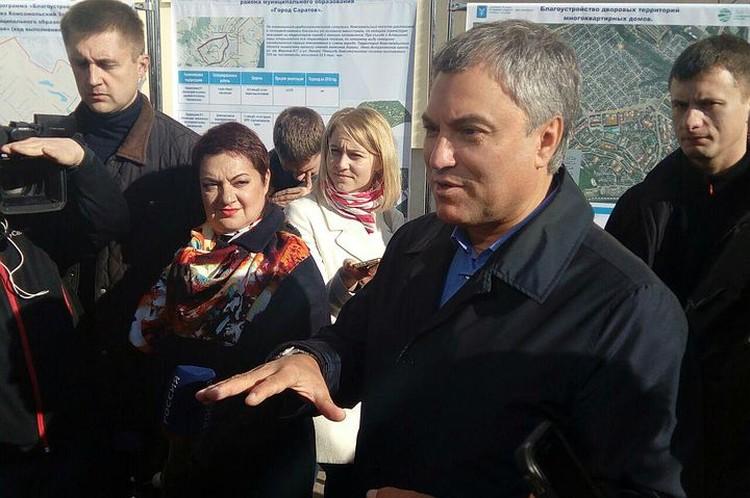 Проекты Вячеслава Володина коснутся тысяч жителей Саратовской области.