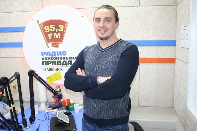 Шеф-повар Евгений Михайлов.