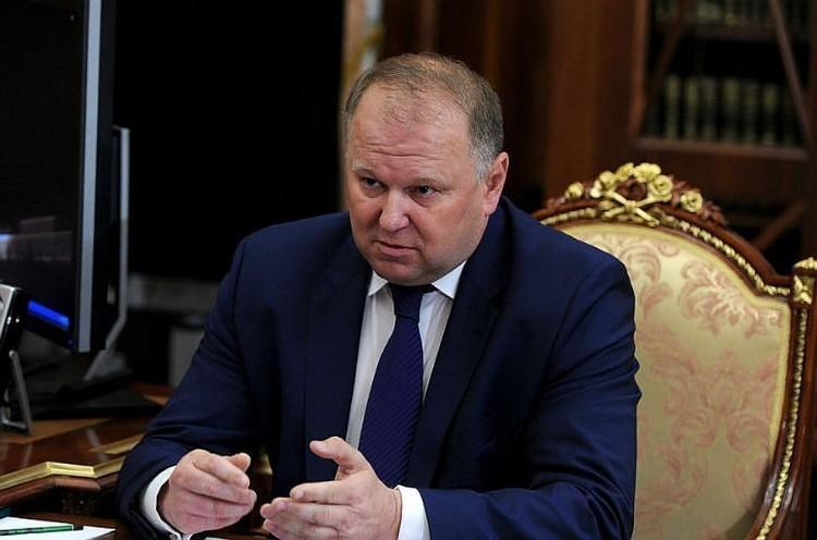 Николай Цуканов. Фото: пресс-служба Кремля