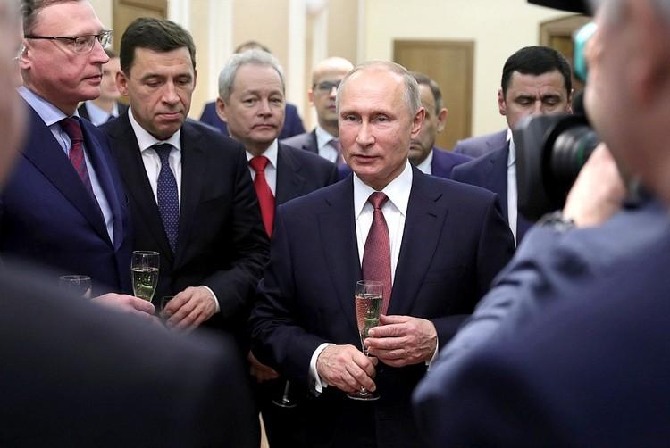 Владимир Путин на встрече с губернаторами ФОТО: Михаил Климентьев/пресс-служба президента РФ/ТАСС
