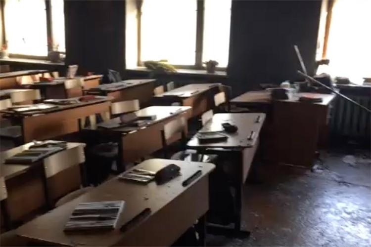 В этом классе школьник устроил резню в Бурятии
