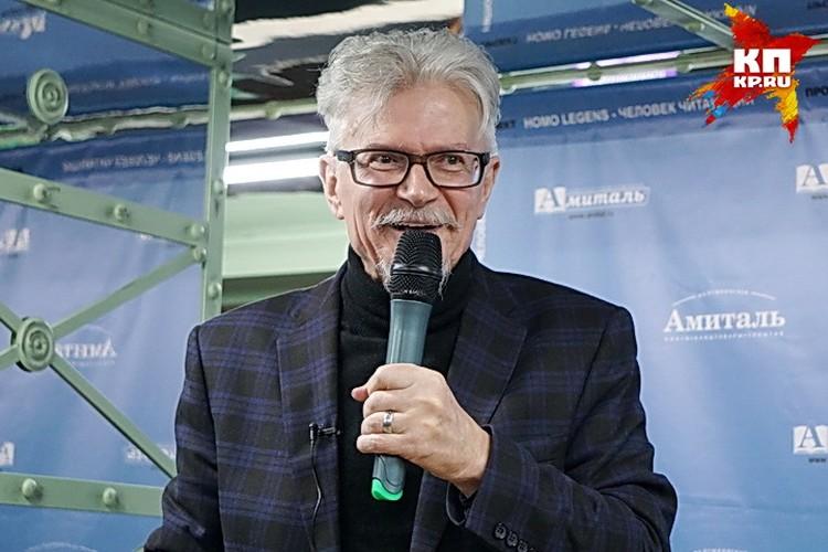 Эдуард Лимонов в Воронеже.