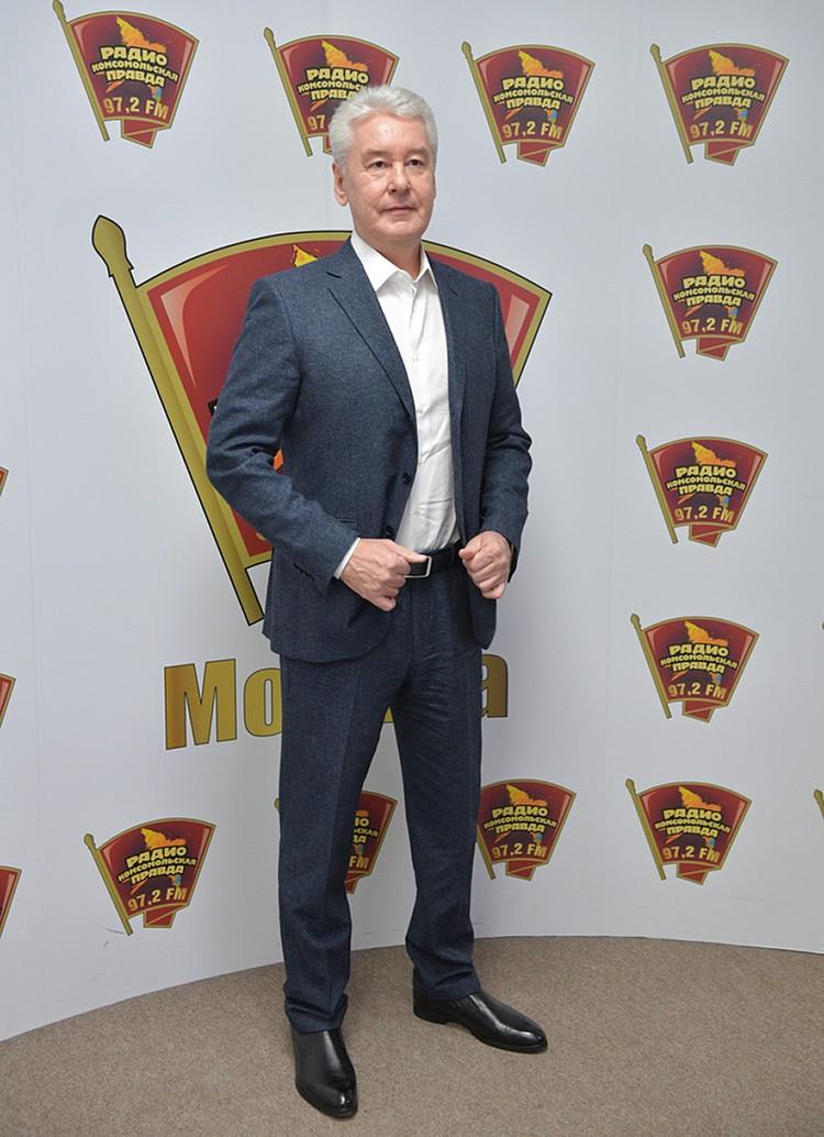Сергей Собянин побывал в гостях в редакции «Комсомольской правды»