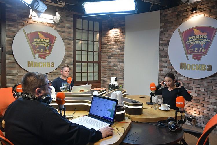 В студии с Екатериной беседовали Антон Арасланов и Александр Гришин