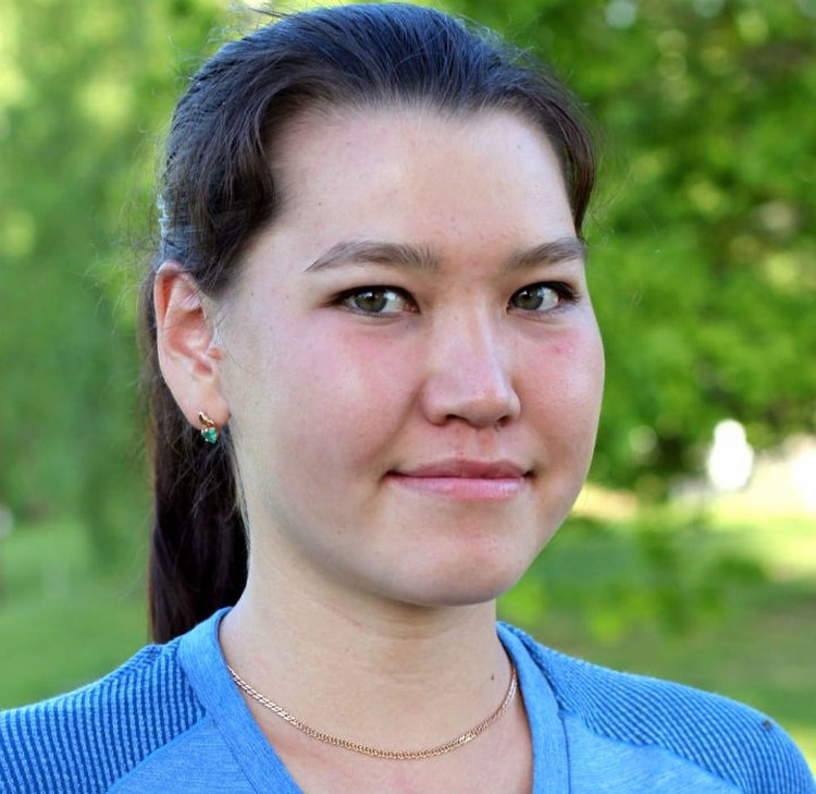 Алиса Жамбалова - дебютантка Олимпиад. Фото: федерация лыжных гонок России.