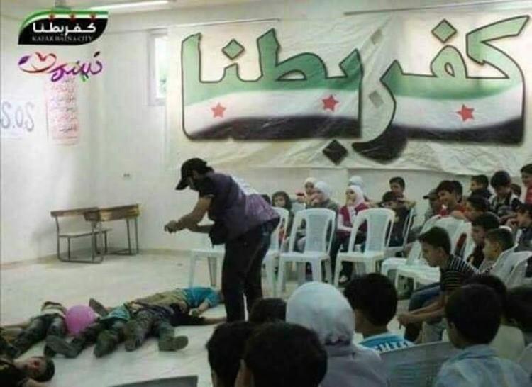 У сирийских боевиков давно поставлено на поток производство фейковых снимков и видео о жертвах среди мирных жителей.
