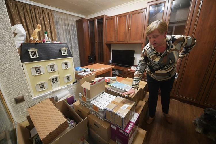 Татьяна Сухарева к переезду уже готова