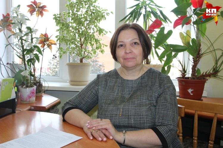 Руководитель комитета по управлению имуществом Вышнего Волочка Светлана Антонова