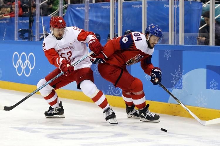 Сергей Широков в матче против Чехии
