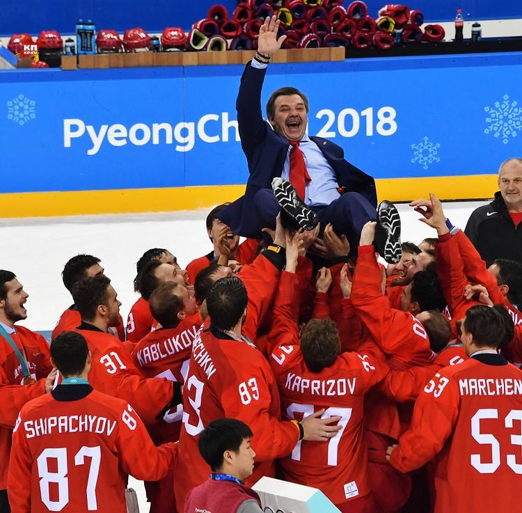 Победа хоккеистов – это не победа конкретных спортсменов, это победа всей страны