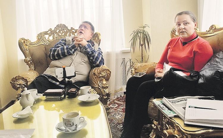 Глава фирмы «Пуролайт-Трейд» Александр Пригодин и его коммерческий директор Ольга Грибова были поражены скепсисом журналиста.