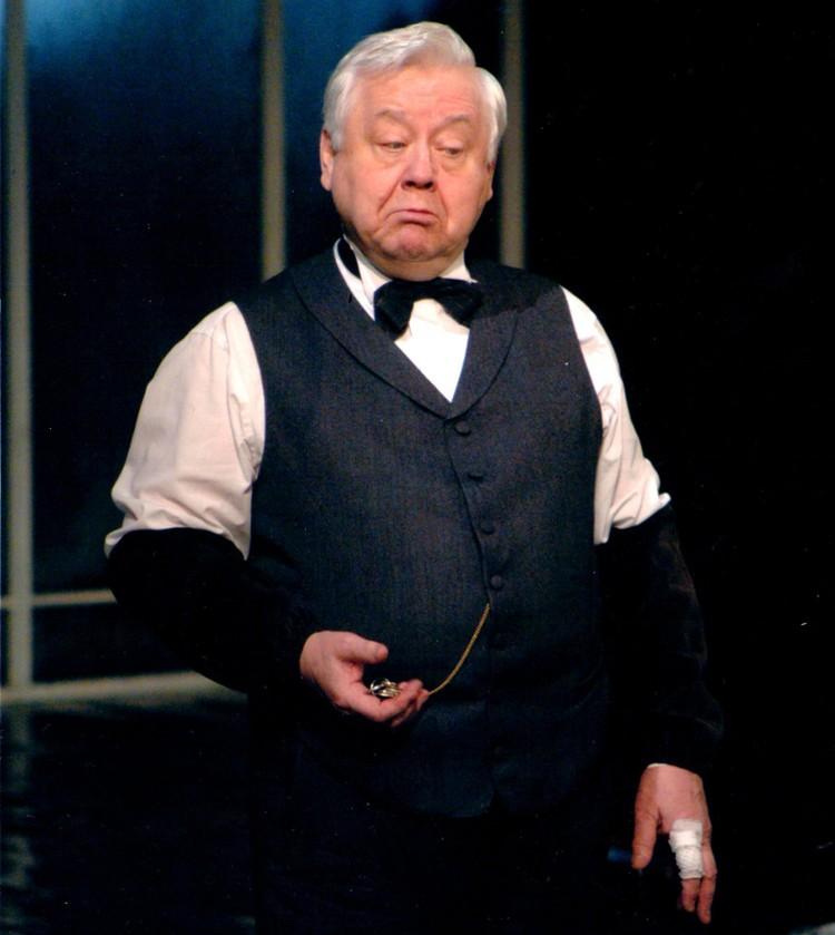 Олег Табаков в тверском драмтеатре, 2006 год. Фото:из архива Веры Ефремовой