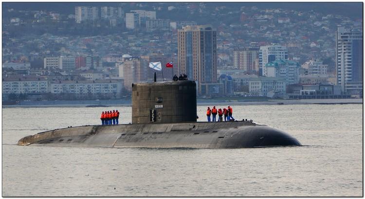 Подводная лодка «Ростов-на-Дону». Фото: пресс-служба ЧФ РФ