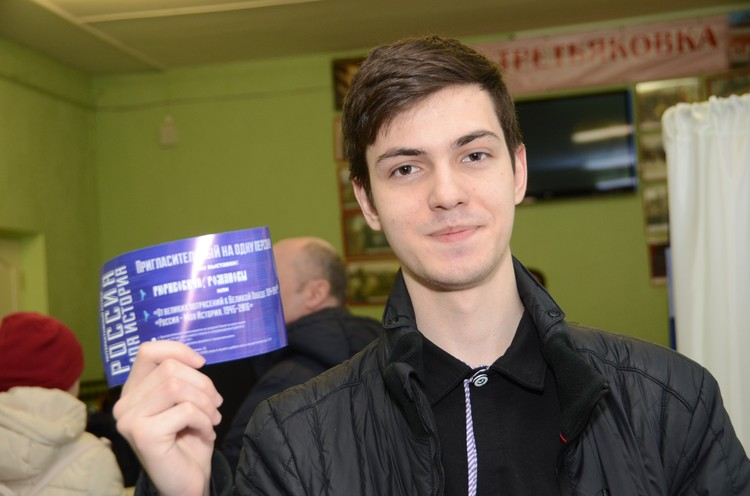 Волгоградец Владимир Хрусталев впервые голосует на выборах.