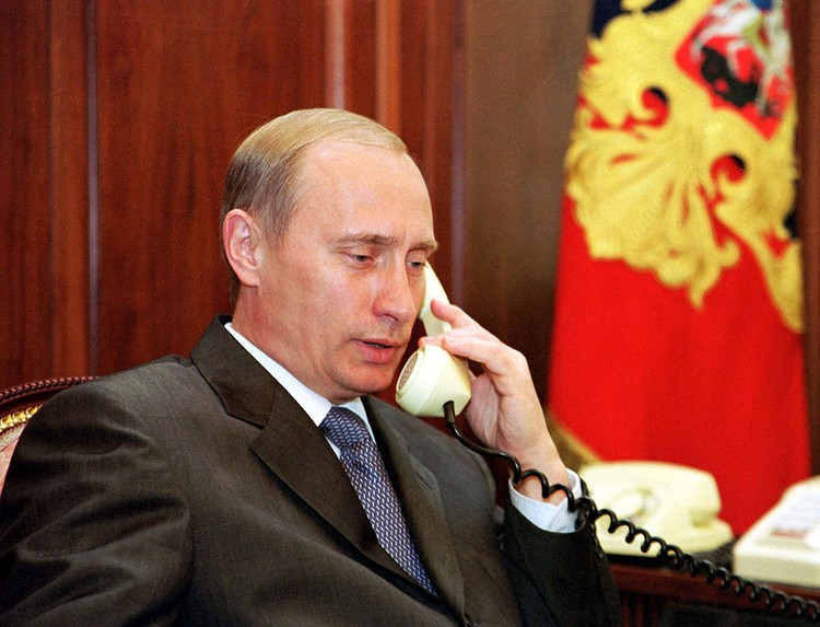 Владимир Путин. 2000 год