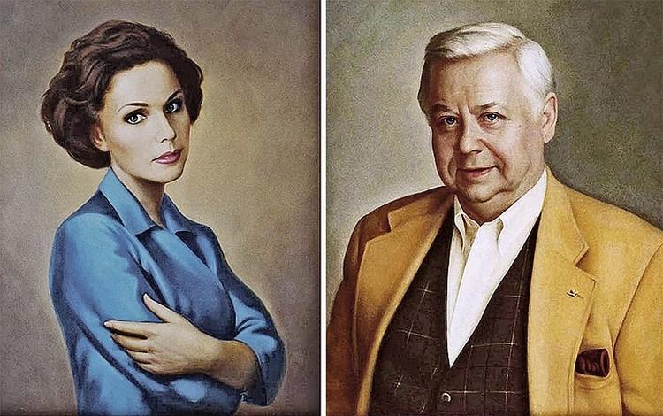 Эти портреты были сделаны по фото 13 лет назад. Фото: portretlavka.ru, karpulin-art.ru