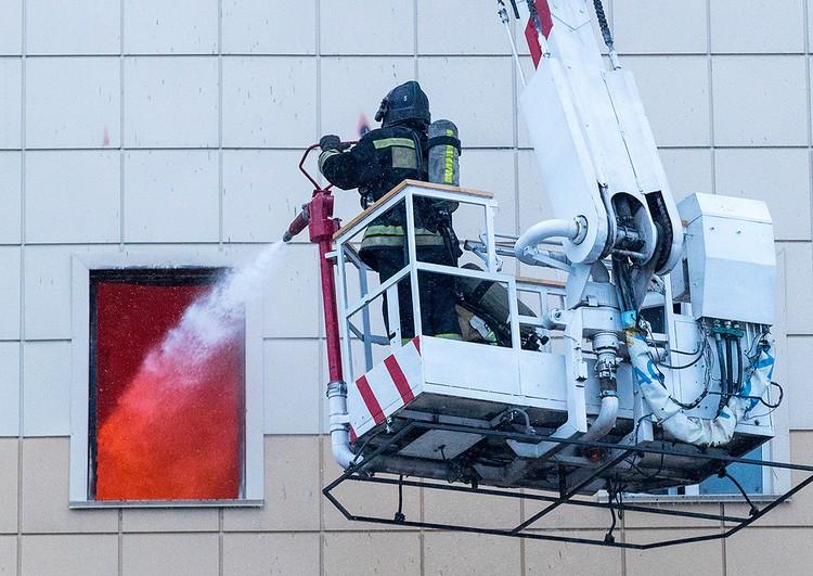 Ликвидация пожара заняла более восьми часов. ФОТО Данил Айкин/ТАСС