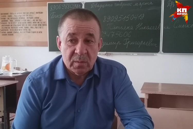 Владимир Евдокимов, глава поселка