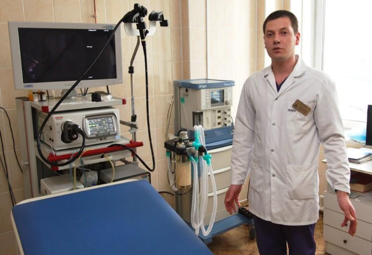 Современная техника в руках хорошего врача – залог точного диагноза.