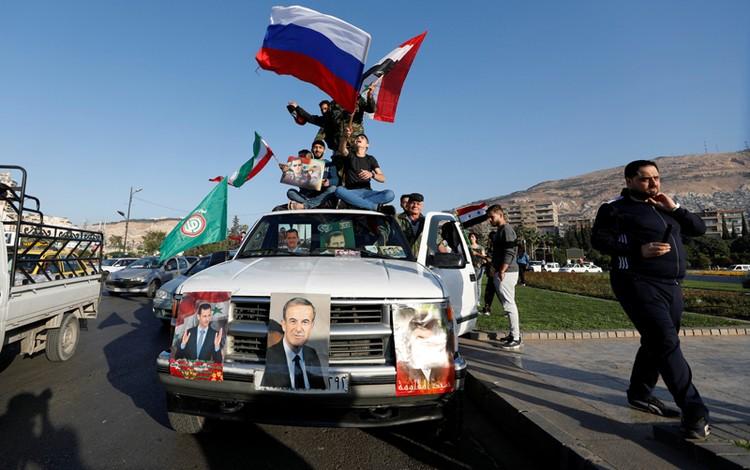 Башар Асад теперь еще более популярен здесь, чем раньше