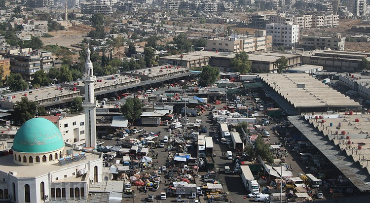 Дамаск от ракетного удара не пострадал