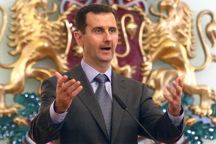 Президент Сирии Башар Асад в 2010 году.