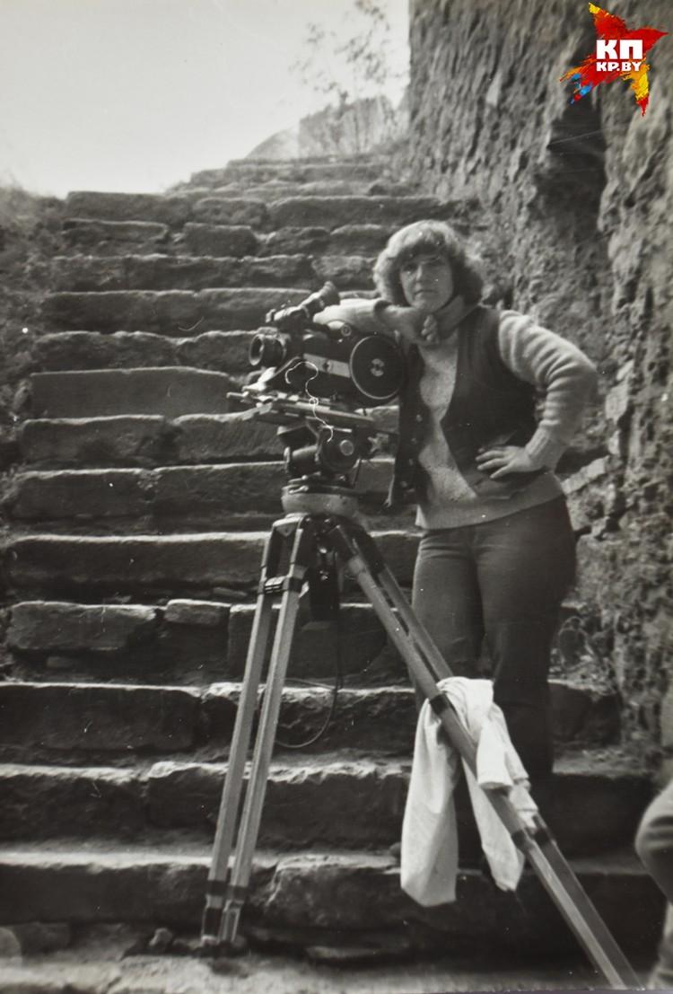 Татьяна Логинова всю жизнь проработала за камерой. Фото: архив Татьяны Логиновой