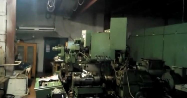 """Тот самый стан """"Зундвиг"""", наличие которого отрицают на заводе."""