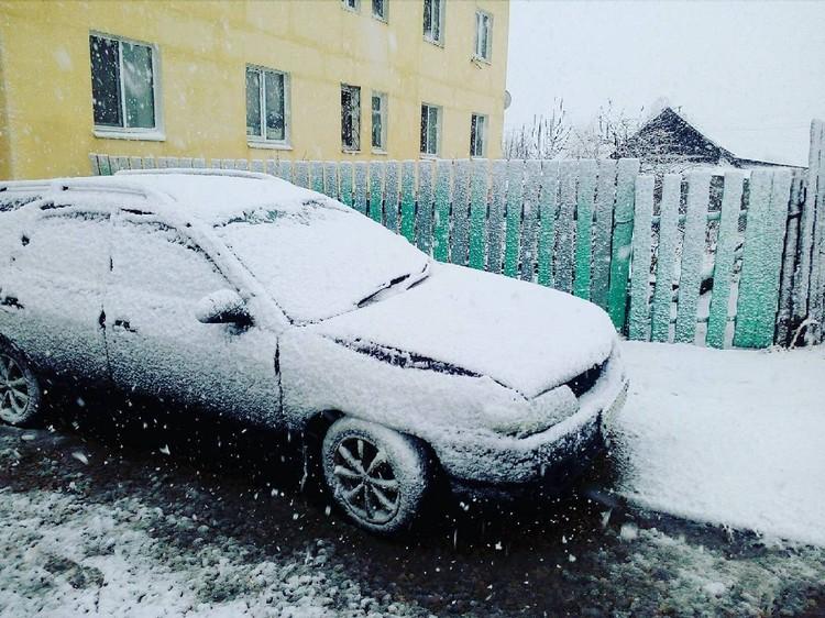 О мокром снеге накануне предупреждали синоптики