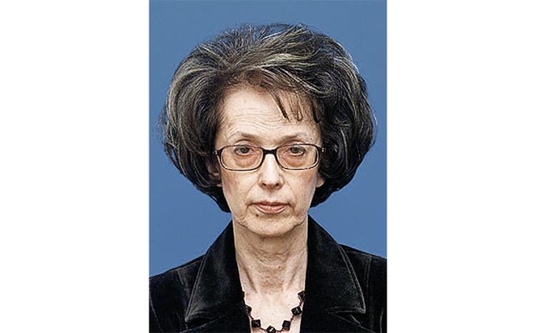 Бывшая жена Михаила Задорнова Велта. Фото: philol.msu.ru