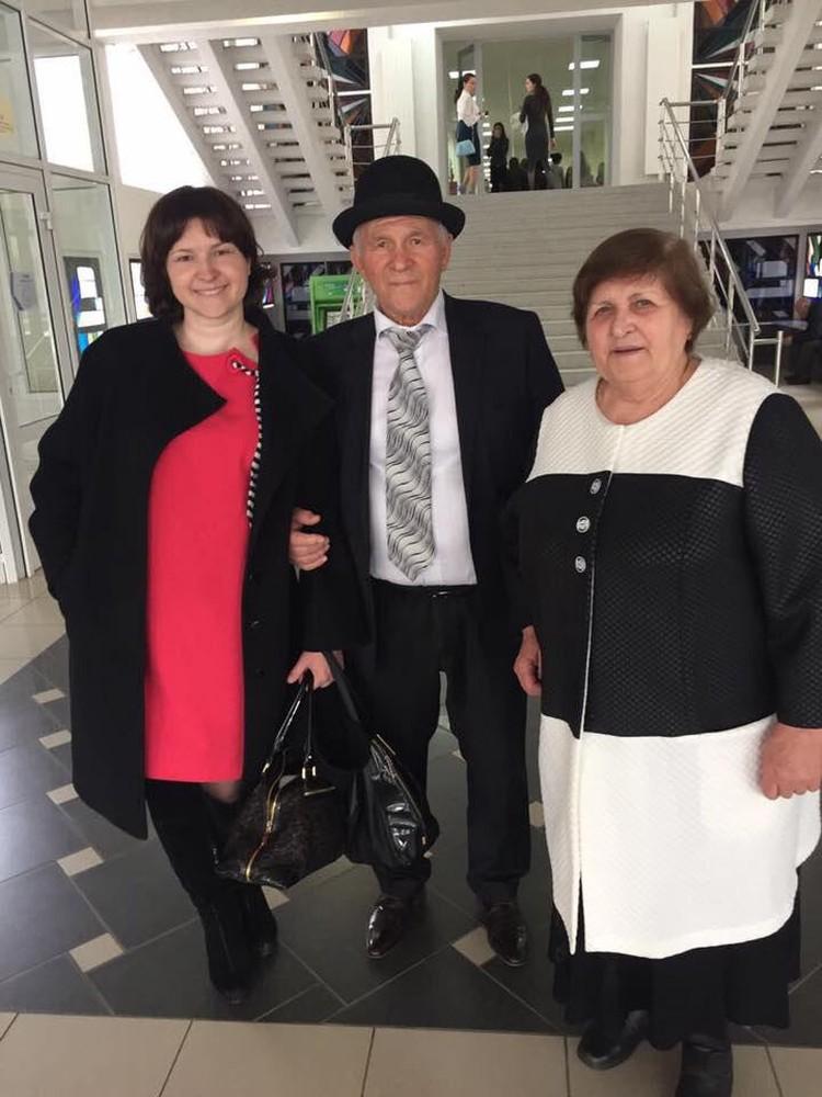 Родители бывшего вице-губернатора Кубани - Казбек и Луиза Ахеджак