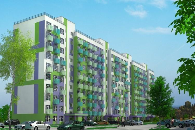 Таким рисовал застройщик дом перед дольщиками: яркая многоэтажка, новый уютный микрорайон... novomarusino.ru