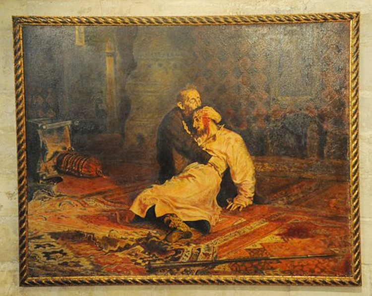 """Полотно """"Иван Грозный и сын его Иван 16 ноября 1581 года"""""""