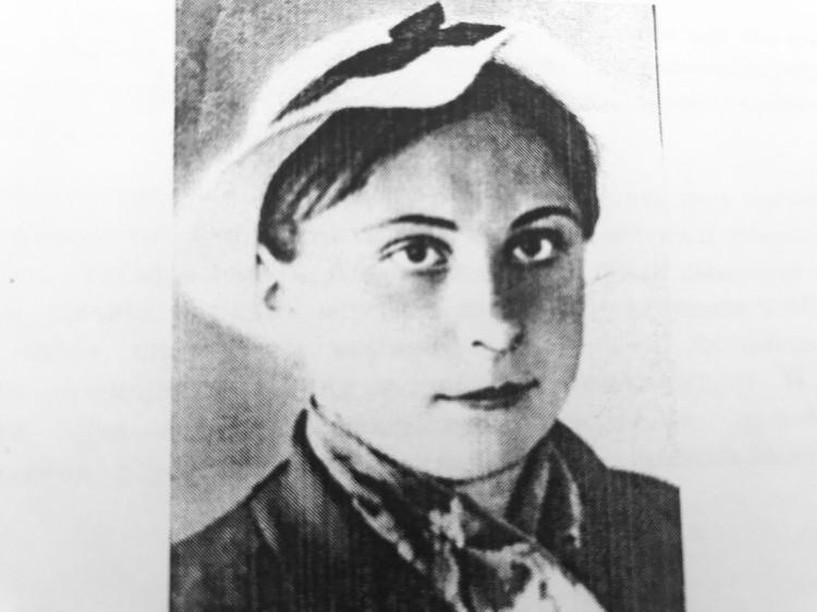 Тоня Бобкова. (фото 1941 г.) Фото: из фондов музея им. Лизы Чайкиной