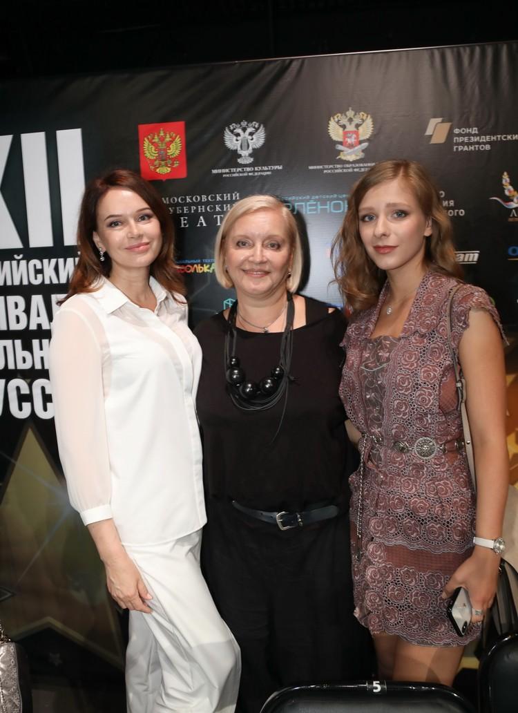 Ирина Безрукова, Лариса Преториус и Лиза Арзамасова.