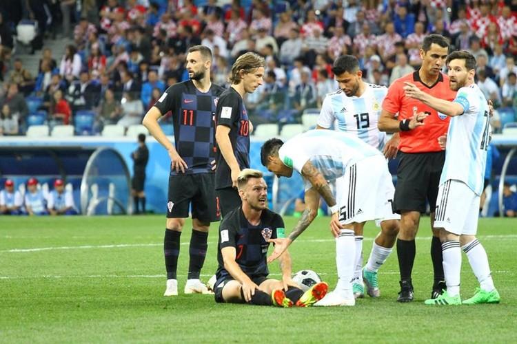 Аргентинцы выглядят на этом чемпионате весьма бледно.