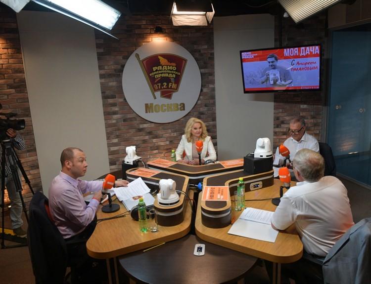 Татьяна Голикова в эксклюзивном интервью Радио «Комсомольская правда» ответила на вопросы о пенсионном возрасте, пособии по безработице, детских садах и результатах ЕГЭ