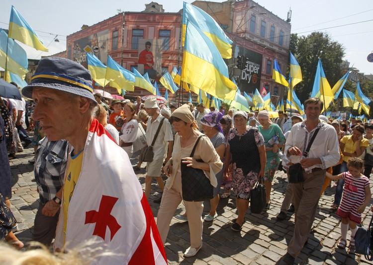 Украинские раскольники и националисты хотят добиться автокефалии Украинской православной церкви. Фото: Zuma/ТАСС