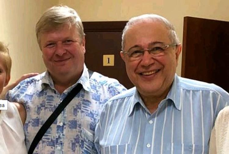 Михаил Вашуков и Евгений Петросян.