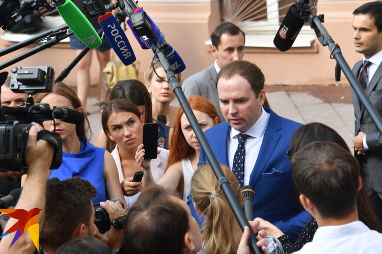 Адвокат Сергей Жорин после заседания суда