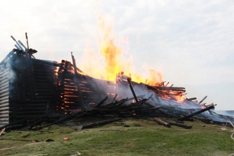 Пожару был присвоен номер 1 БИС Фото: ГУ МЧС Республики Карелия