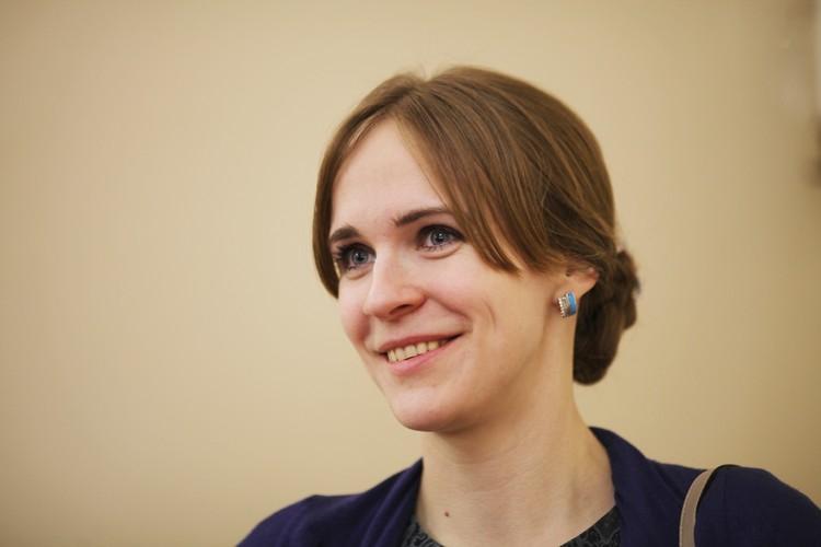 Елизавета Олескина - директор Благотворительного фонда помощи пожилым людям и инвалидам «Старость в радость»