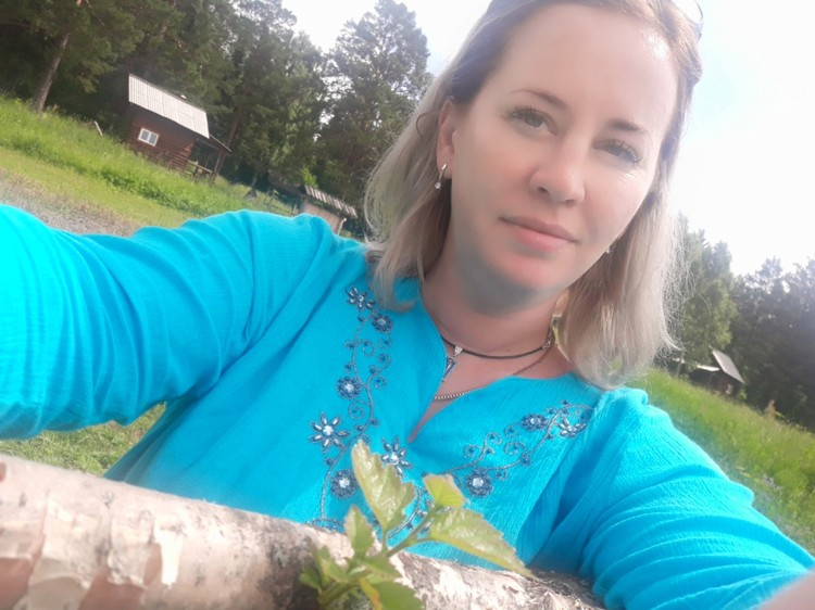 Еще один волонтер — Наталья Радько — журналист и счастливая мама. Фото: семейный архив.